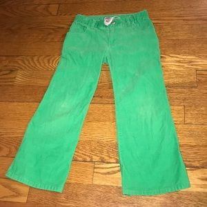 Vintage lilly Pulitzer little girl corduroy pants